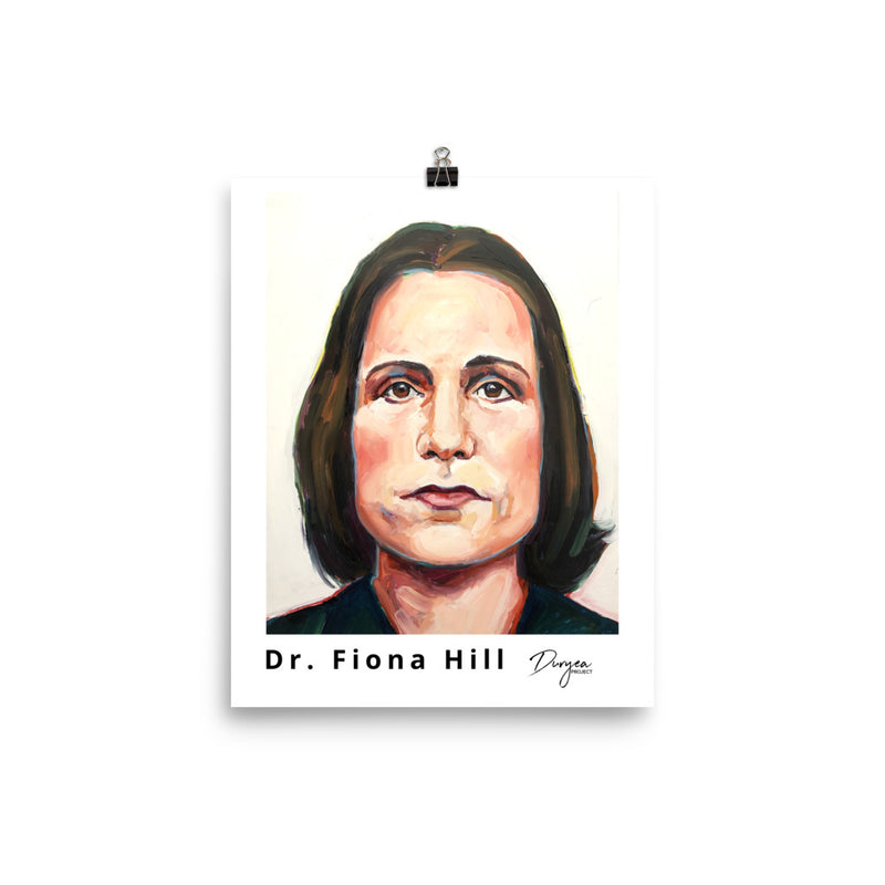 Dr. Fiona Hill Poster