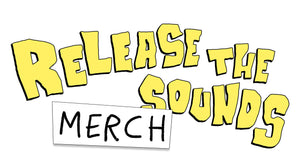 MERCH shirts cd poster Release The Sounds stickers artwork