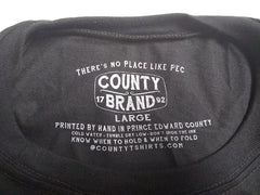 pec county tshirts prince edward county picton inside label