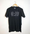 AGRI + CULTURE BLACK Men's / Unisex Modern Crew T-shirt • Printed in Prince Edward County PEC!