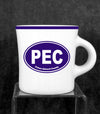 PEC DINER STYLE COFFEE MUG by HOMER LAUGHLIN POTTERY • Prince Edward County