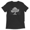 COUNTY GROWN  • Prince Edward County PEC • Men's / Unisex Modern Charcoal Heather Grey Crew T-Shirt