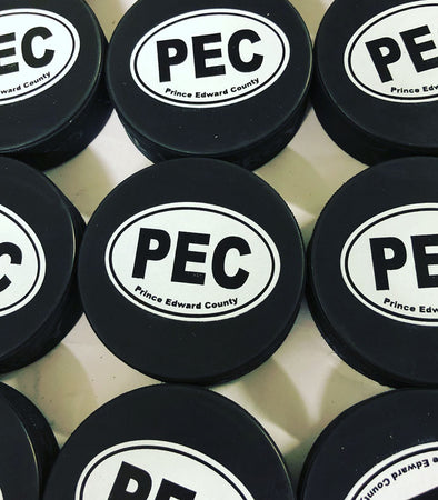 PEC Oval HOCKEY PUCK • VICEROY CANADA •  Prince Edward County