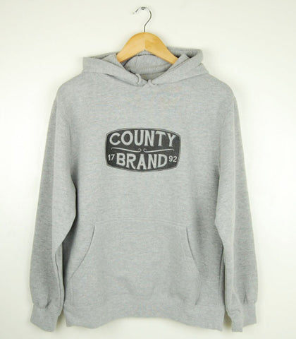 Unisex • Hoodie Pullover Sweatshirt • Prince Edward County Brand 1792 • on Athletic Heather Grey