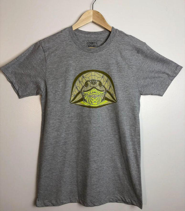 BLANDING'S TURTLE • Prince Edward County • Men's / Unisex Athletic Heather Modern Crew T-Shirt