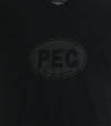 PEC OVAL • Prince Edward County • Men's / Unisex Black Ink on Black Modern Crew T-shirt