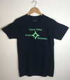 ROUNDABOUT • Men's Modern Crew T-Shirt • Prince Edward County PEC • Navy Blue