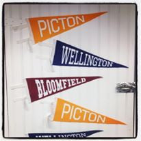 Pennants • Picton - Bloomfield - Wellington - Prince Edward County - Pinot Noir - Rosé - Chardonnay - Eat More Local - Sandbanks