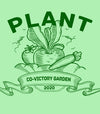 PLANT CO-VICTORY GARDEN 2020 Stay at HOME Unisex Men's GREEN HEATHER T-Shirt Covid-19