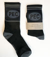 PEC Oval I AM COUNTY • MEN'S PERFORMANCE SOCKS • Prince Edward County