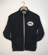 Women's Full-Zip Track Jacket • Prince Edward County • Small PEC Oval on Black