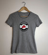 CHERRY VALLEY • Prince Edward County PEC • Women's Athletic Heather Grey Modern Crew  t-shirt