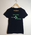 ROUNDABOUT • Prince Edward County PEC • Women's Navy Modern Crew T-Shirt
