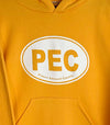 PEC OVAL • YOUTH GOLD YELLOW HOODIE Pullover Sweatshirt • Prince Edward County
