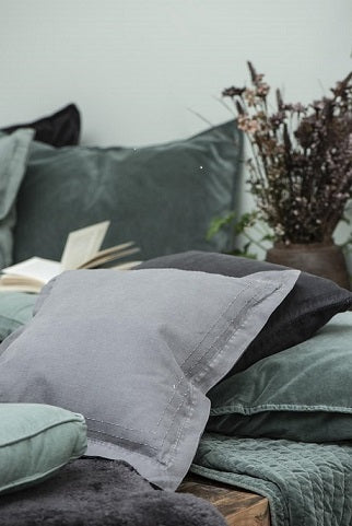 Green and Grey Cushions