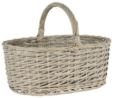 Load image into Gallery viewer, Oval Basket with Handle