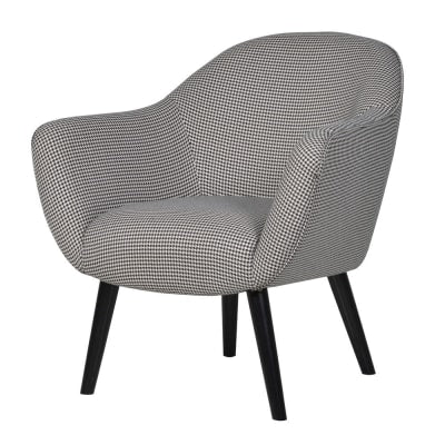 Houndstooth Occasional Chair