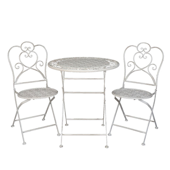 Vintage Garden Bistro Set (3 pieces)