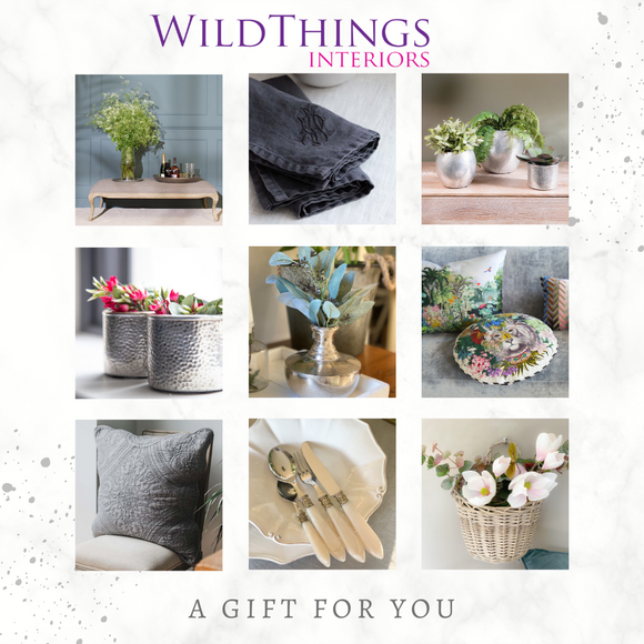 Wildthings Interiors Gift Card