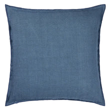 Load image into Gallery viewer, Denim and Blue Linen Cushion