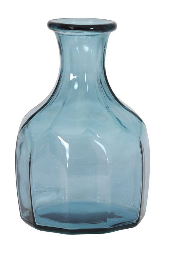 Trenago Blue Glass Vase