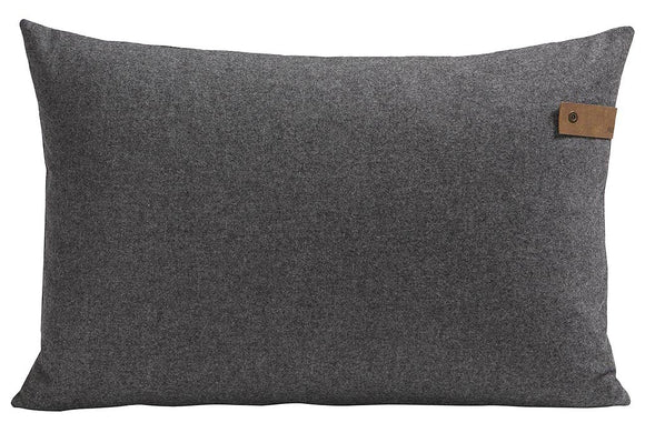 Dark Grey Tina Rectangle Cushion