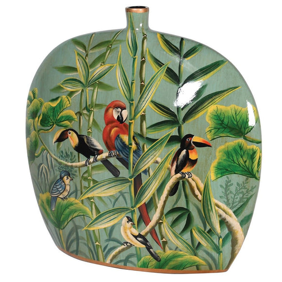 Jungle Deco Vase