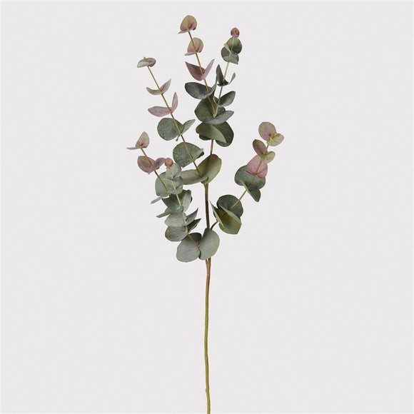 Natural Feel Blush Eucalyptus Stems (Set of 2)