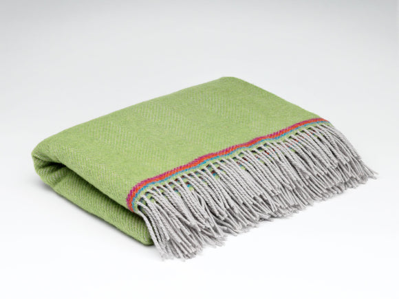 Parrot Green Mini Blanket