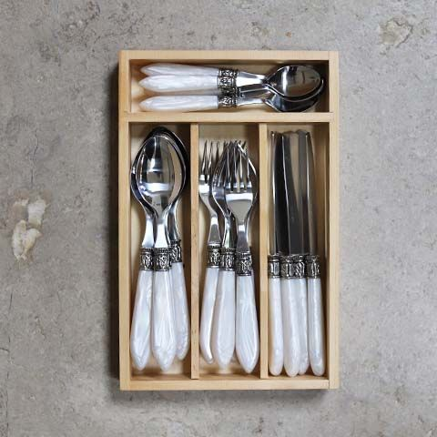 Pearl Handle Cutlery Set