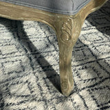 Grey Padded Coffee Table