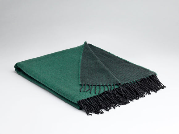 McNutt Emerald Green Reversible Blanket