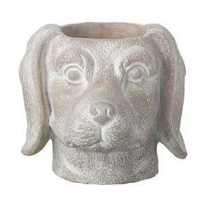 Sausage Dog Head Planter