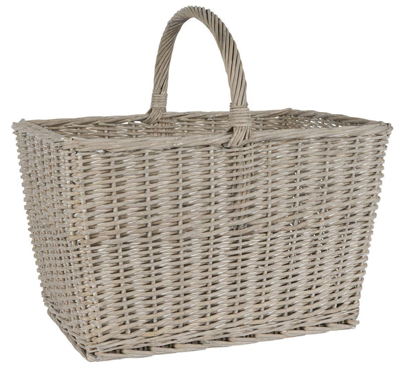 Large Rectangular Basket with Handle