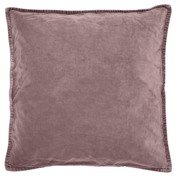 Velvet Malva Cushion