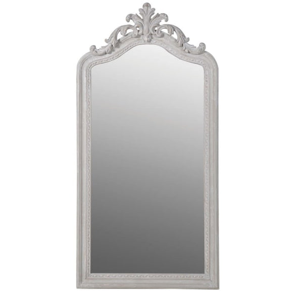 Tall Scroll Wall Mirror