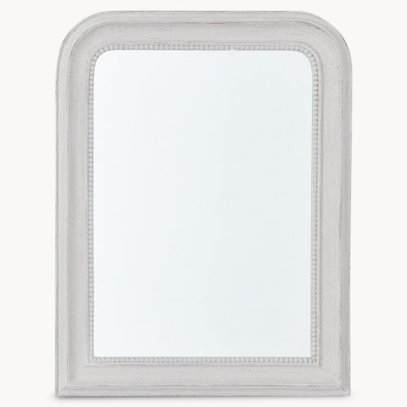 Beaded Grey Wall Mirror