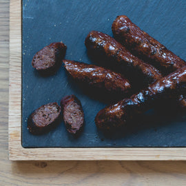 Bison Sausages