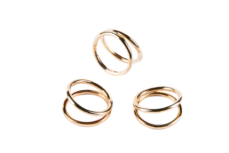 Doble Arco Ring