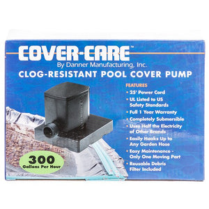300 GPH Cover-Care Magnetic Drive Pool Cover Pump