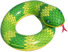 Load image into Gallery viewer, Green Snake Ring Float