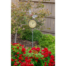 Load image into Gallery viewer, Dragonfly Thermometer Garden Stake