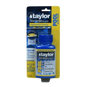 Taylor 4-in-1 Pool Test Strips