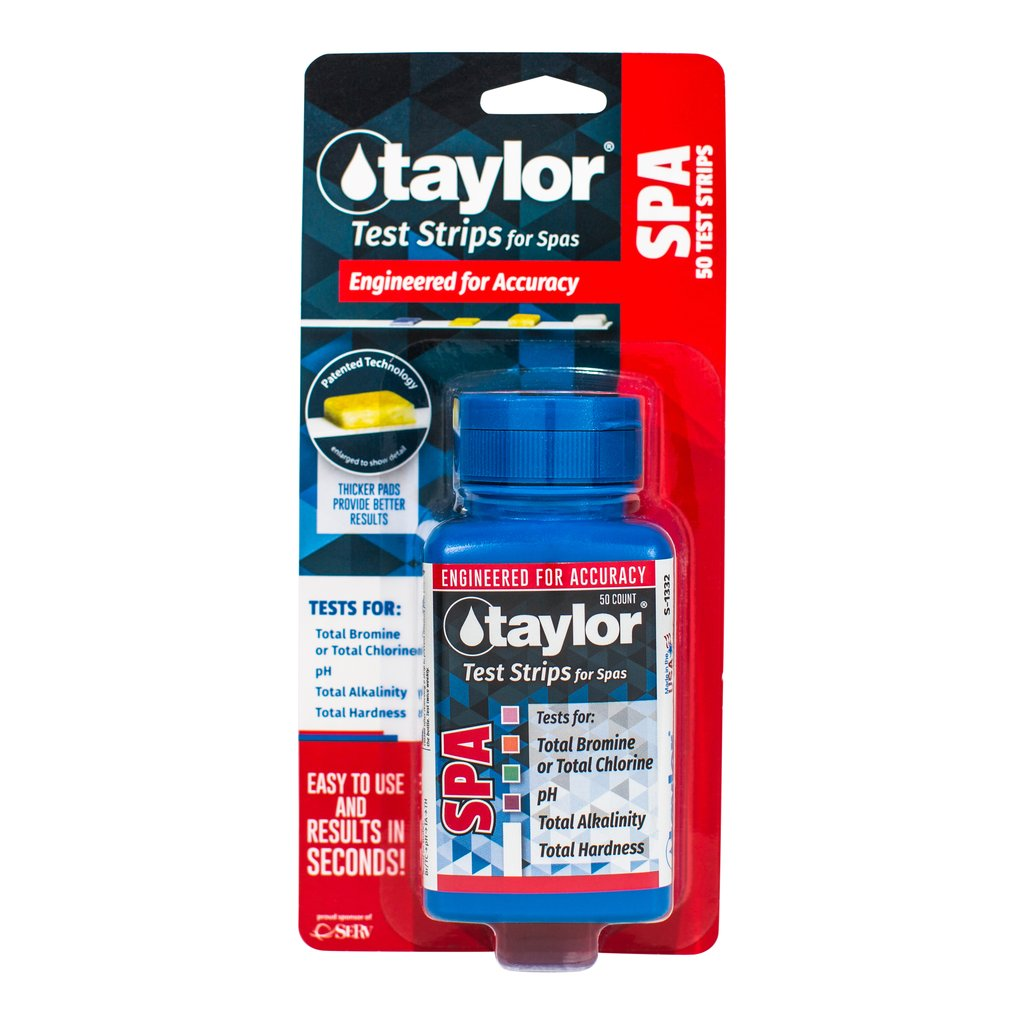 Taylor Spa 4-in-1 Test Strips