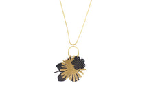 Load image into Gallery viewer, Pressed Floral Charm Necklace
