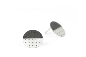 Perforated Dot Earrings