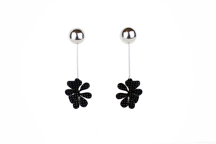 Splat Flower Earrings