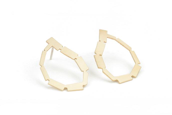 Golden Loop Earrings