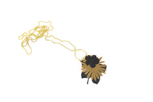 Pressed Floral Charm Necklace