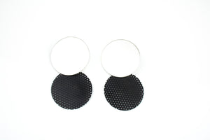 Mini Double Dot Earrings